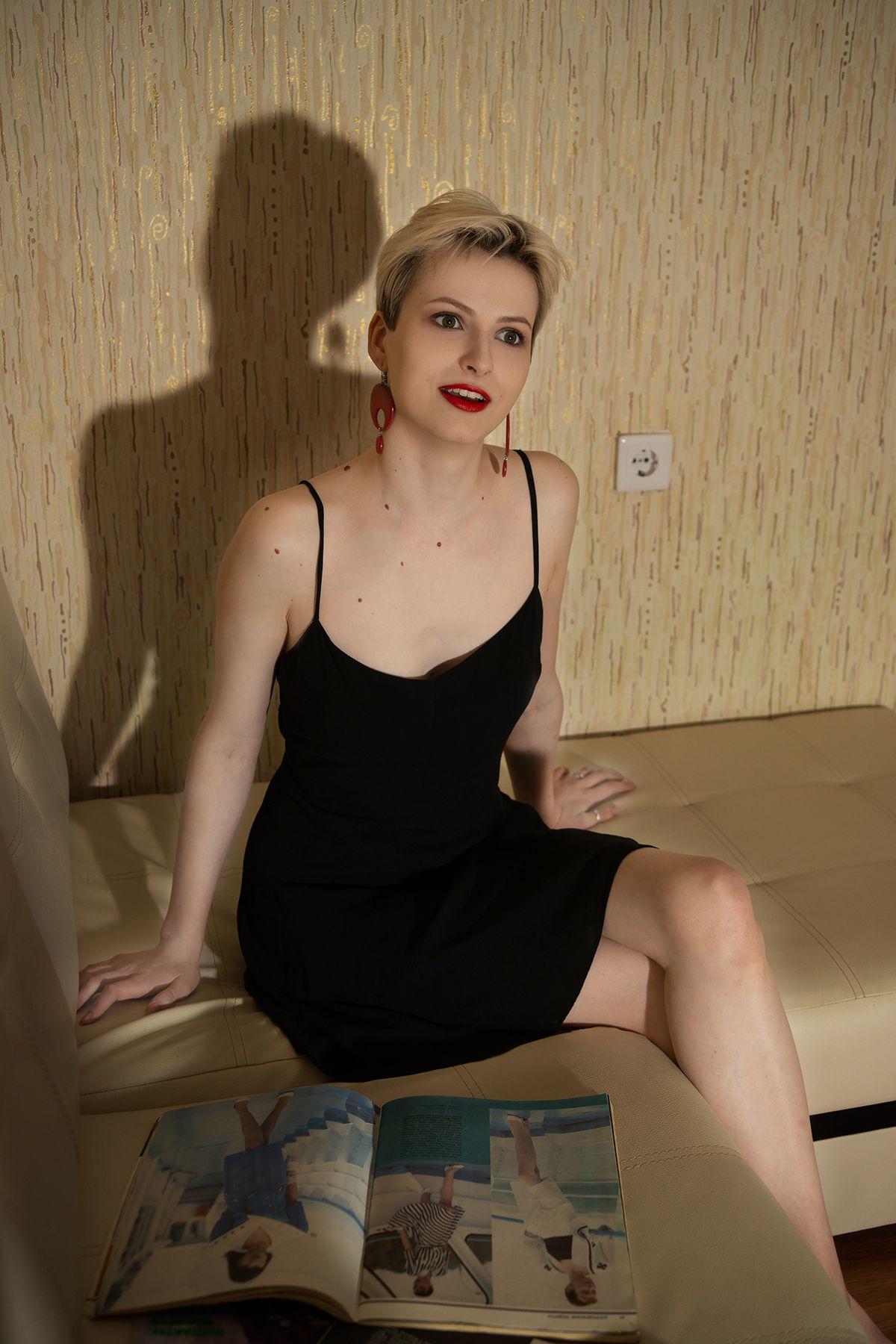 Diana девушка портрет блондинка