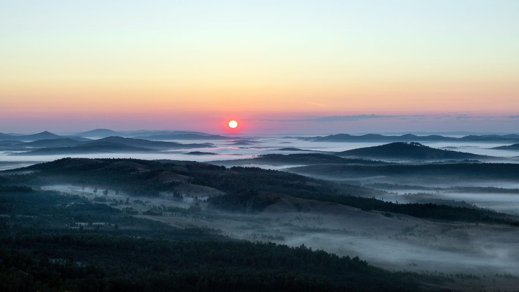 Солнце встаёт хр Нурали