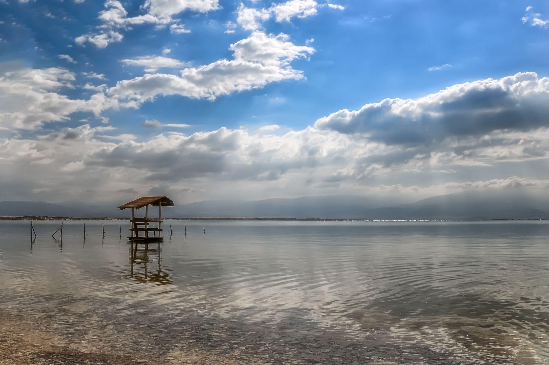 Солнце Мертвого моря море Израиль