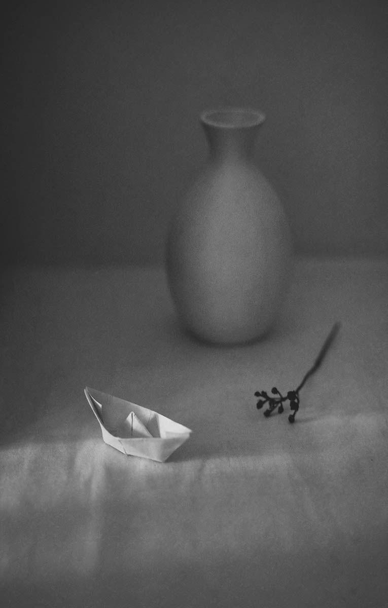 Бумажный кораблик...