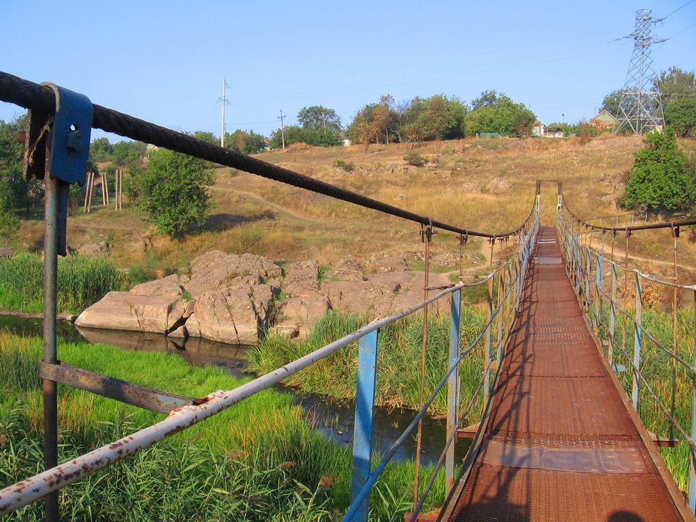 Подвесной мост техно подвесной мост природа