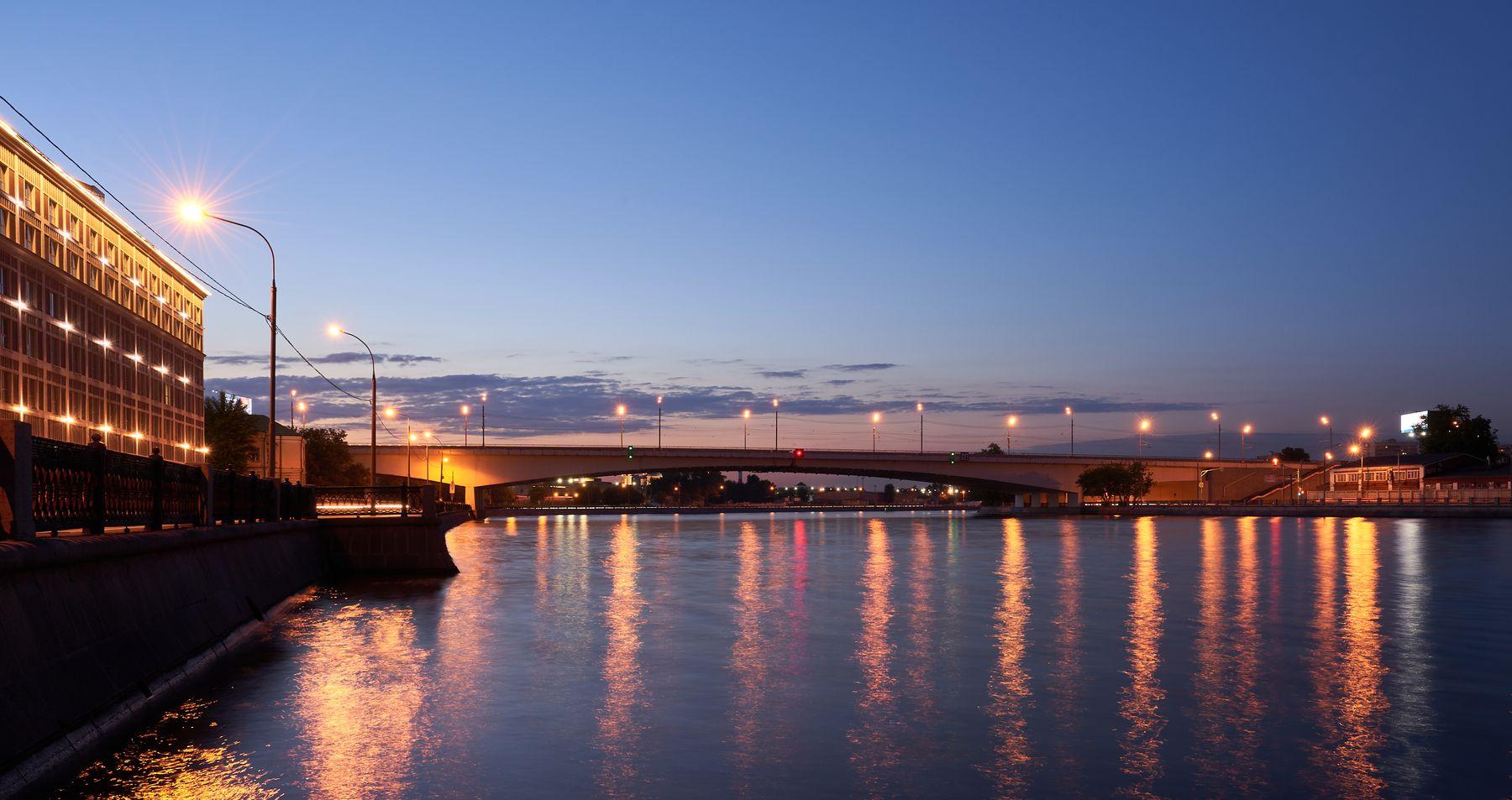 Автозаводский мост Москва мост Автозаводский река