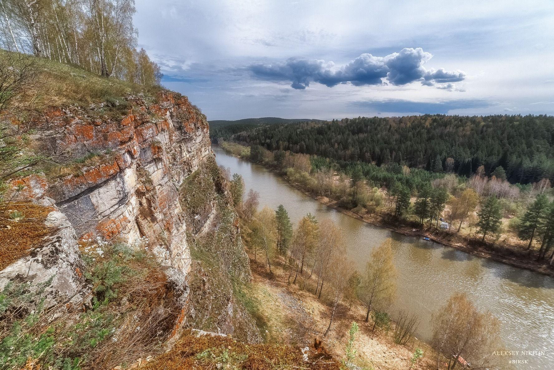 река Юрюзань 8 Мая 2021 г.