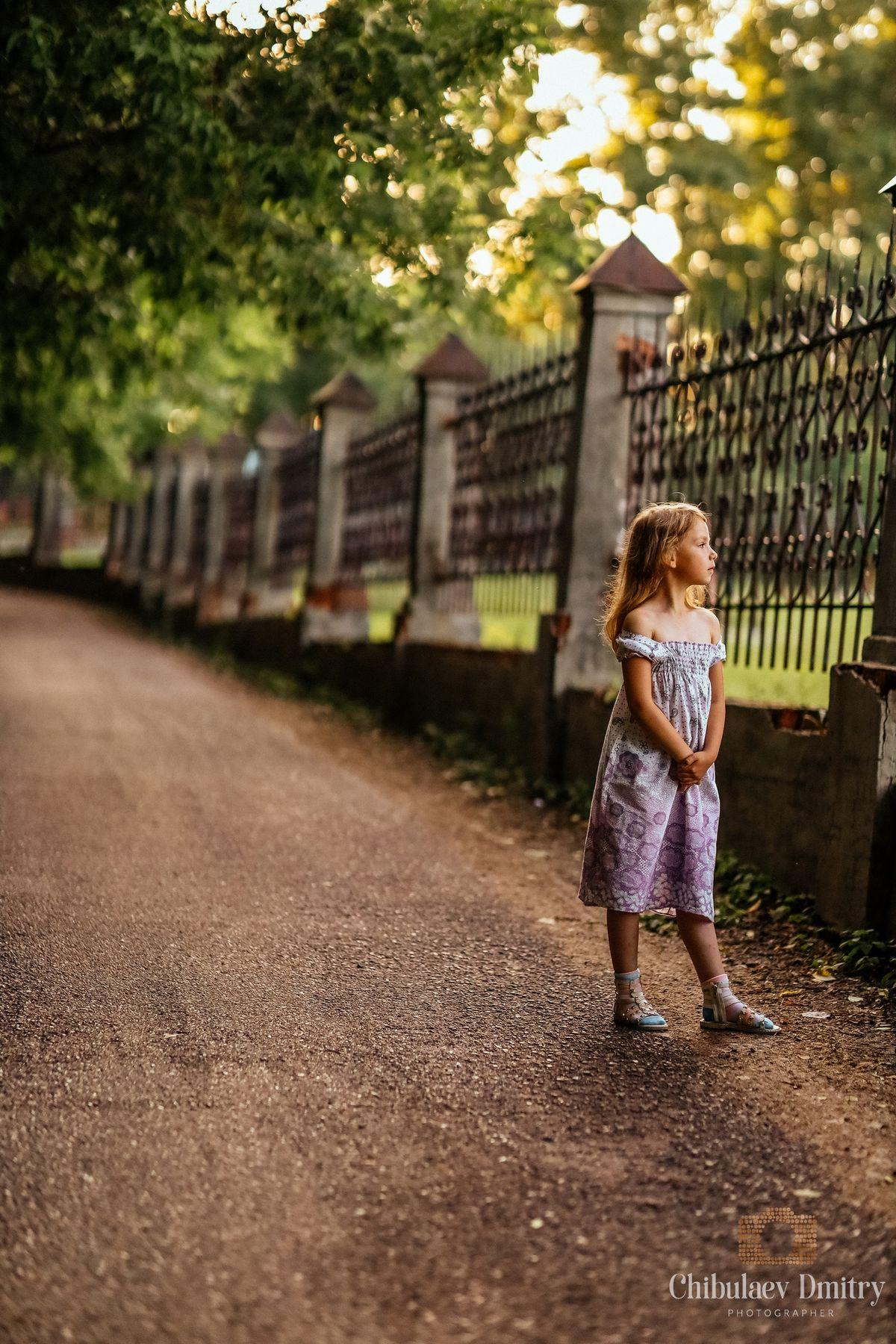 Большие мечты  маленькой модели.. Детская фотография портрет лето девочка