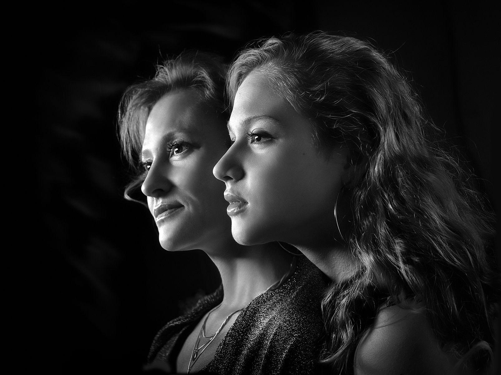 Двойной портрет....2. портрет образ взгляд девушка