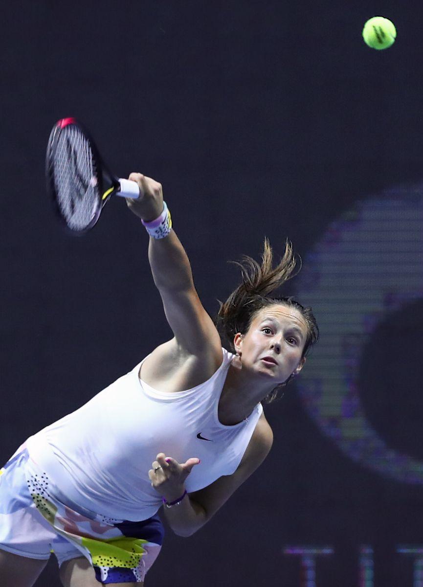 Team Russia - Dasha tennis big WTA Petersburg player racket russia ball Alextennis Kasatkina