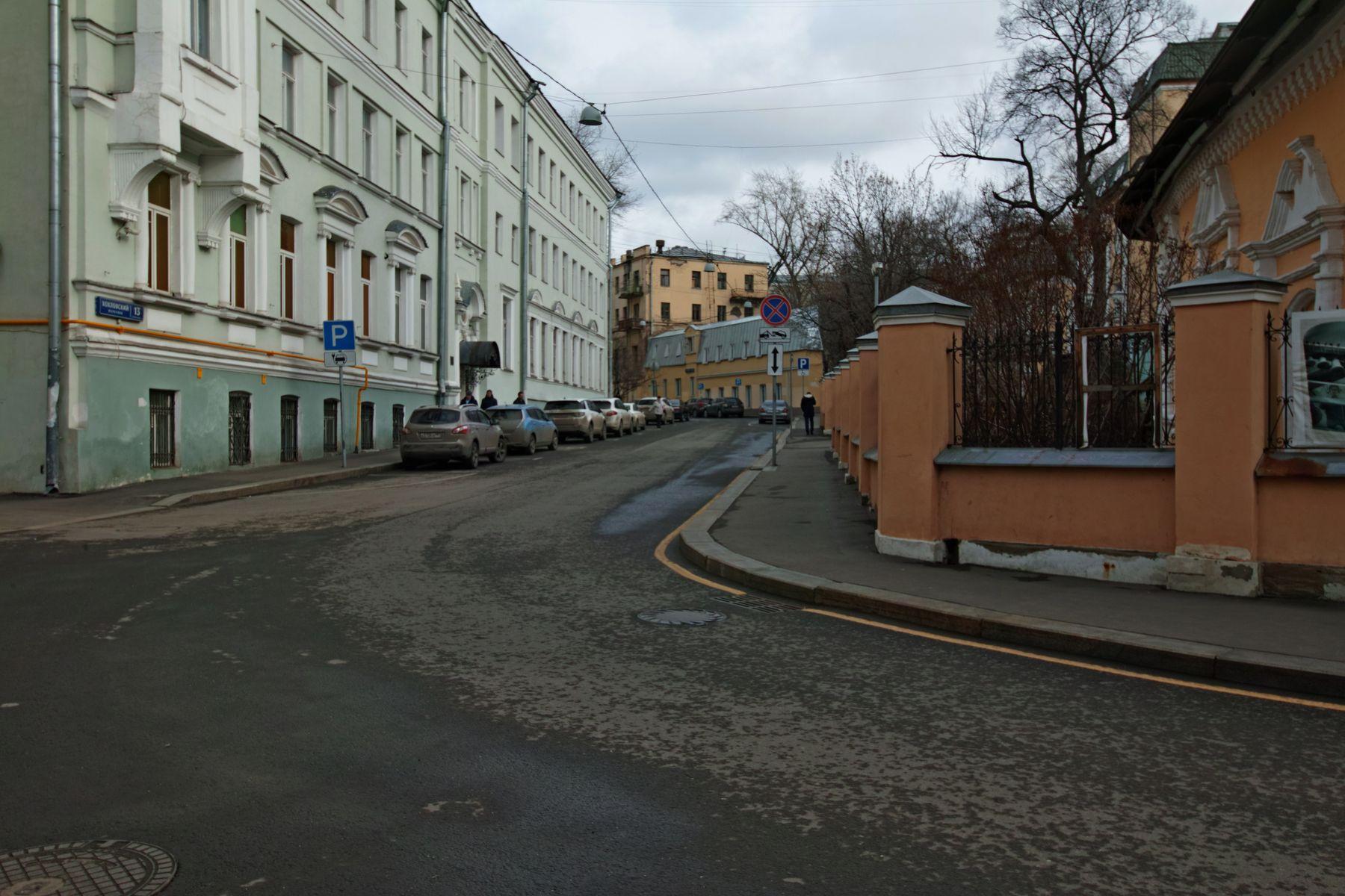 Хохловский переулок город Москва переулок Хохловский