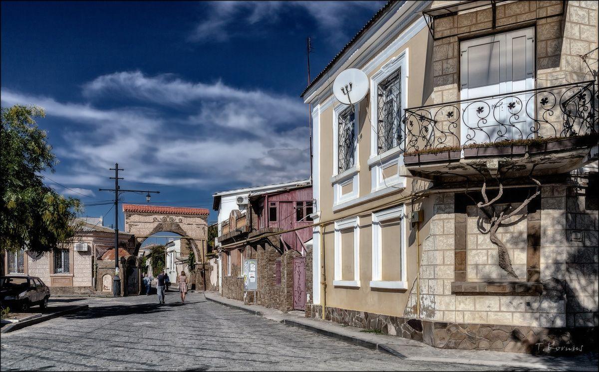 Евпатория,Малый Иерусалим старый дом Крым Евпатория