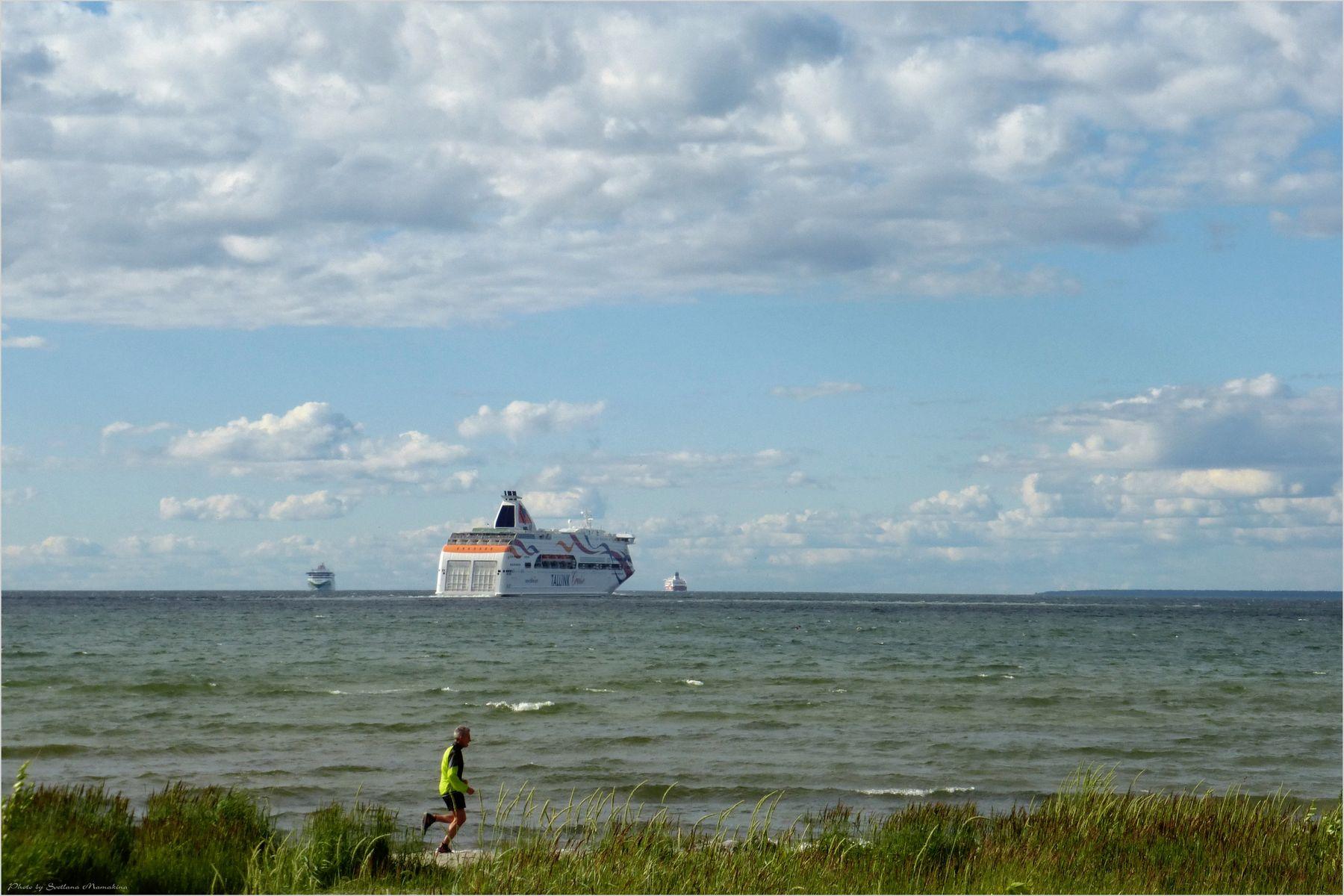 *Пробежка с попутным ветром* фотография путешествия Европа Балтика Фото.Сайт Светлана Мамакина Lihgra Adventure