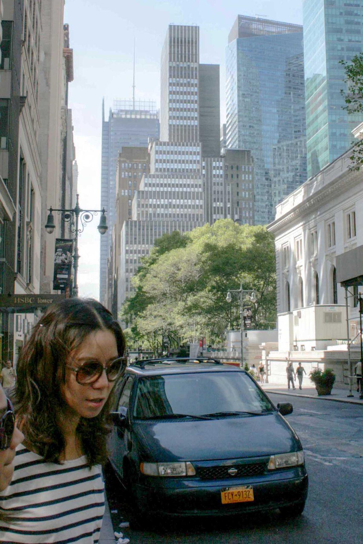 Незнакомка Нью Йорк Манхэттен