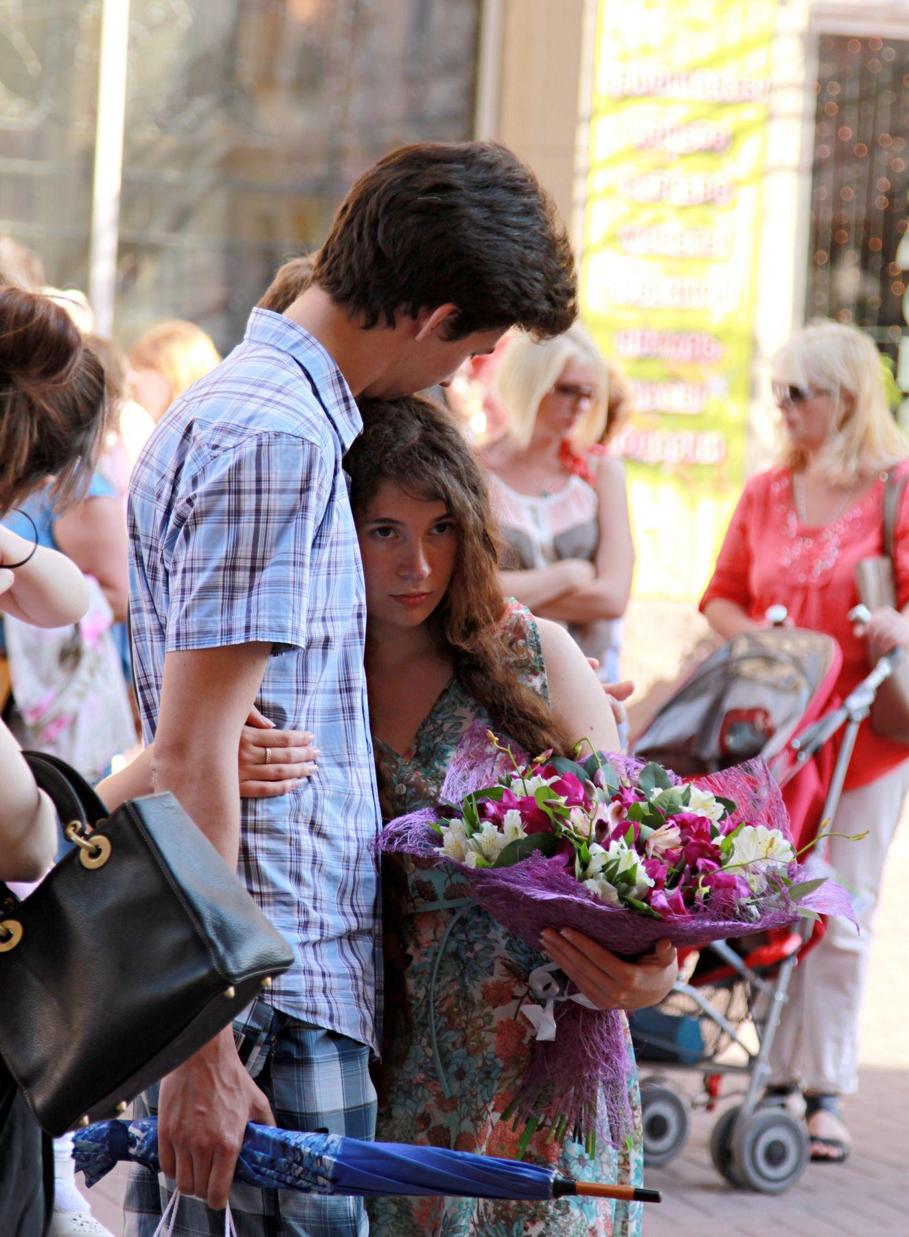 Отношения люди репортаж город прохожие стрит