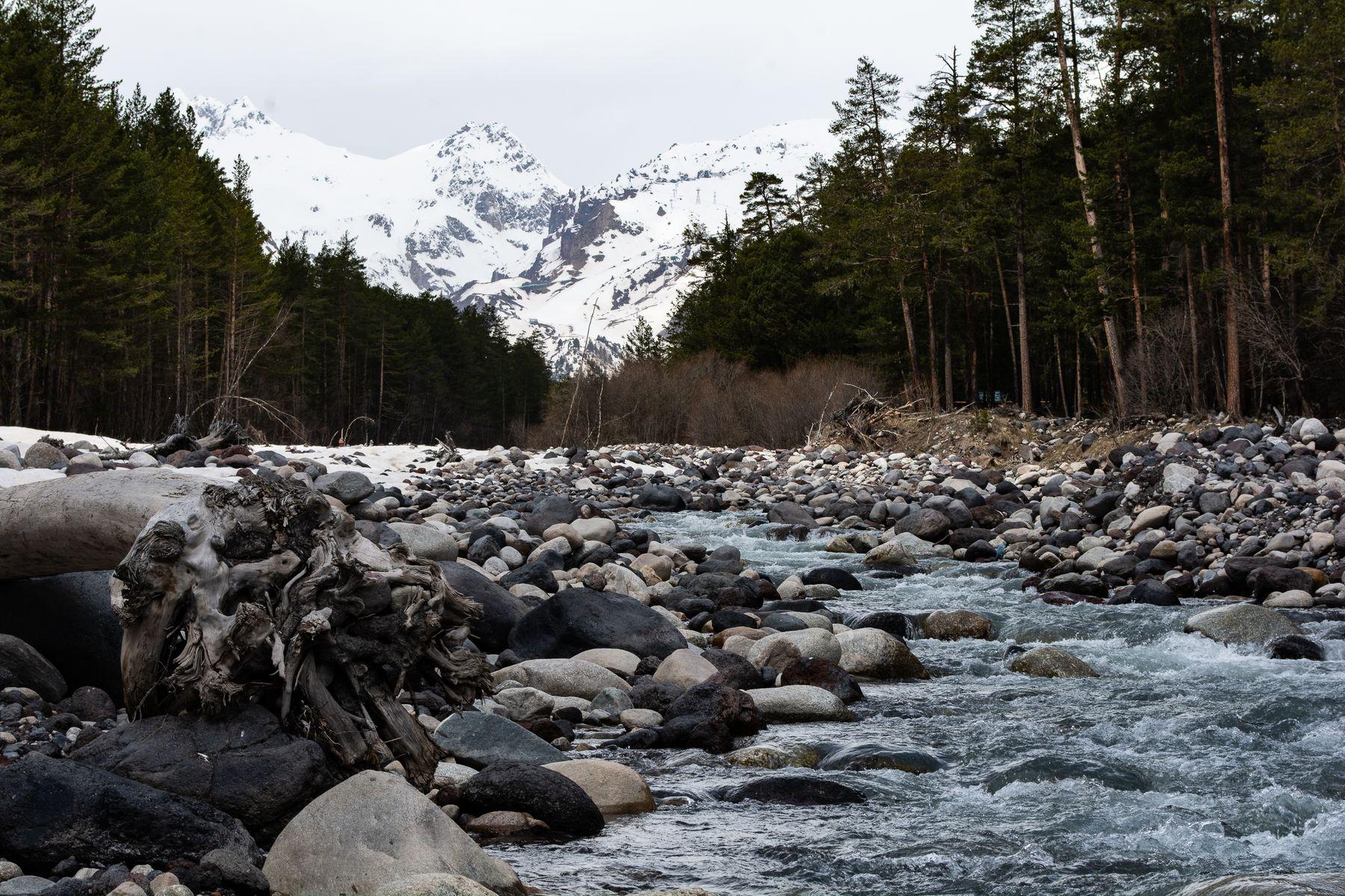 ЭльбрУские реки