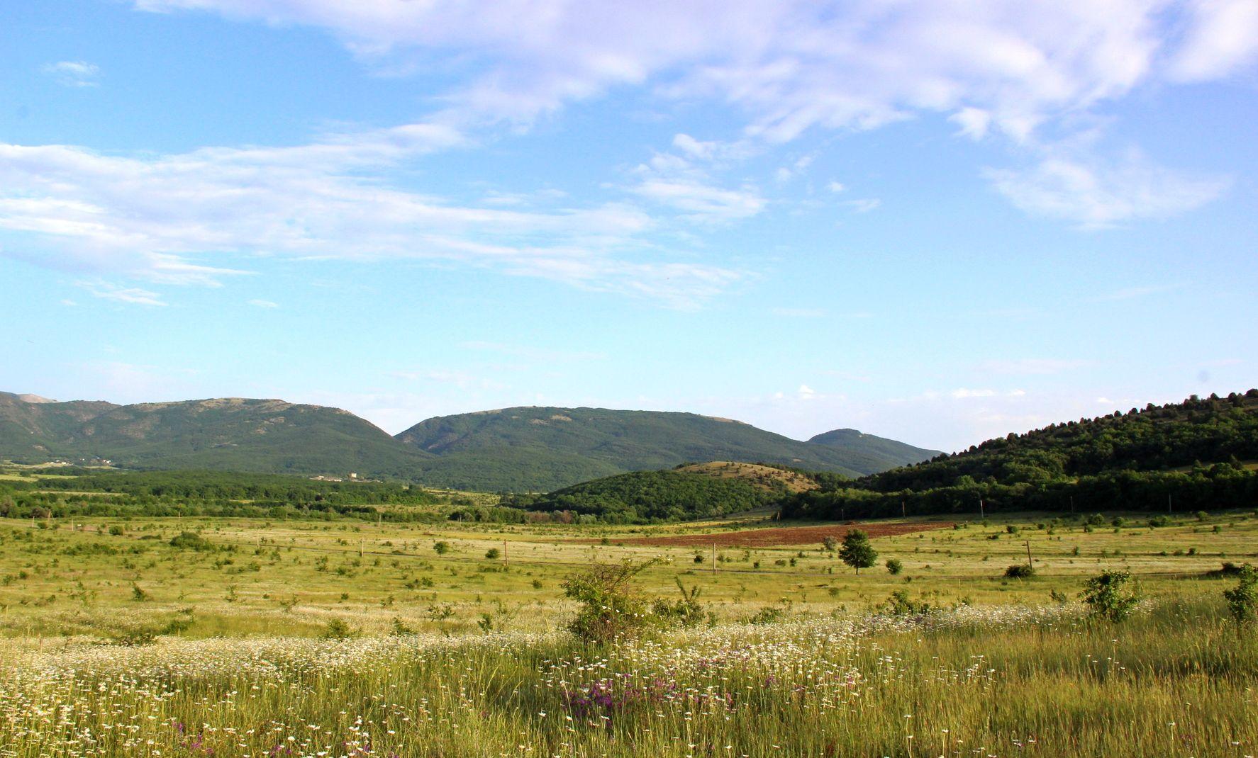 Байдарская долина долина байдарская пейзаж