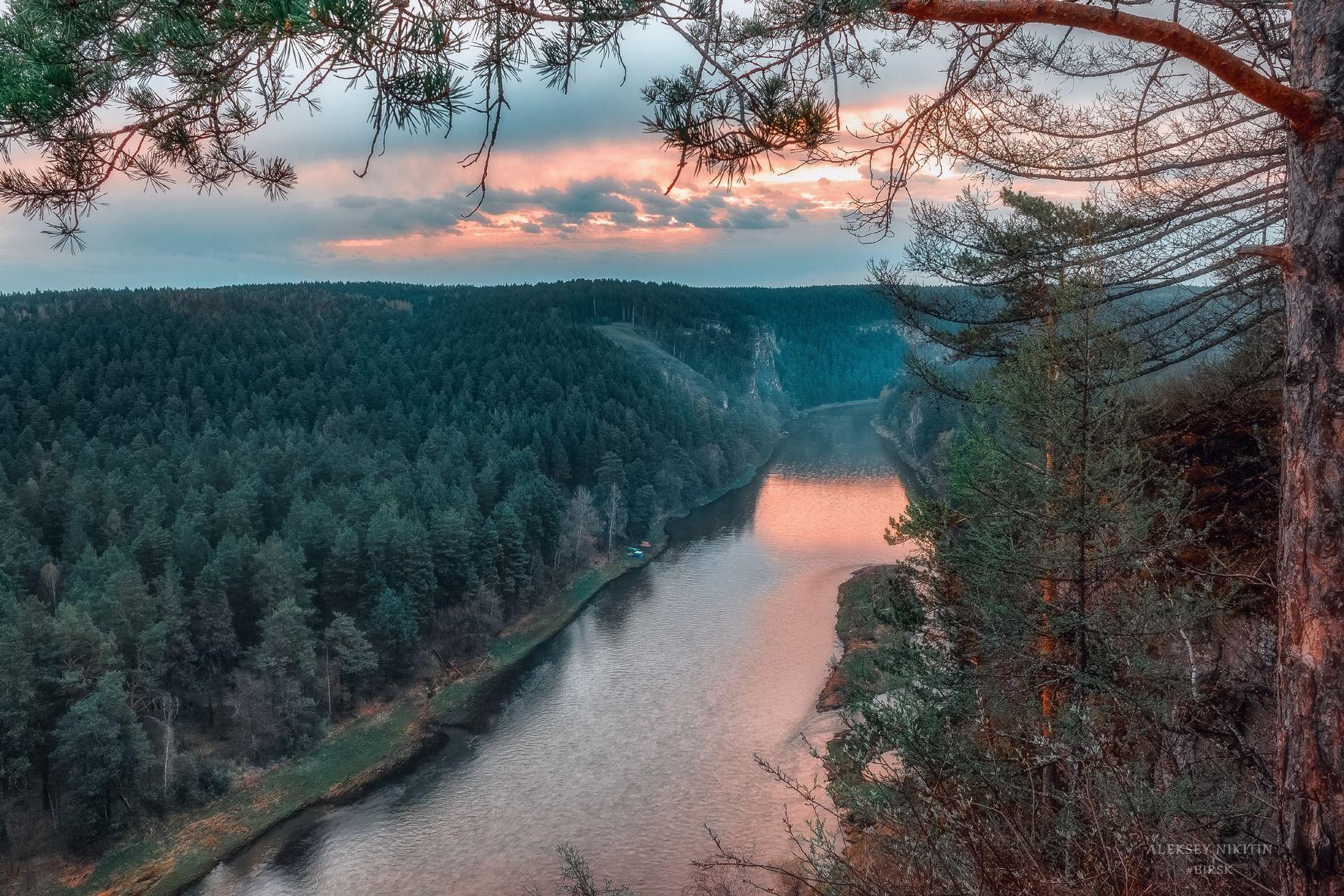 Река Ай (с башкирского — Лунная)