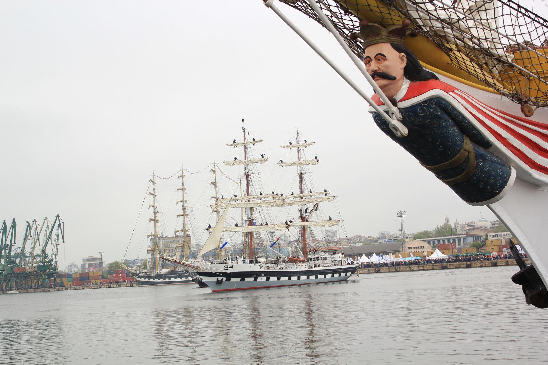 ***Корабли в порту*** регата болгария варна корабль корабли