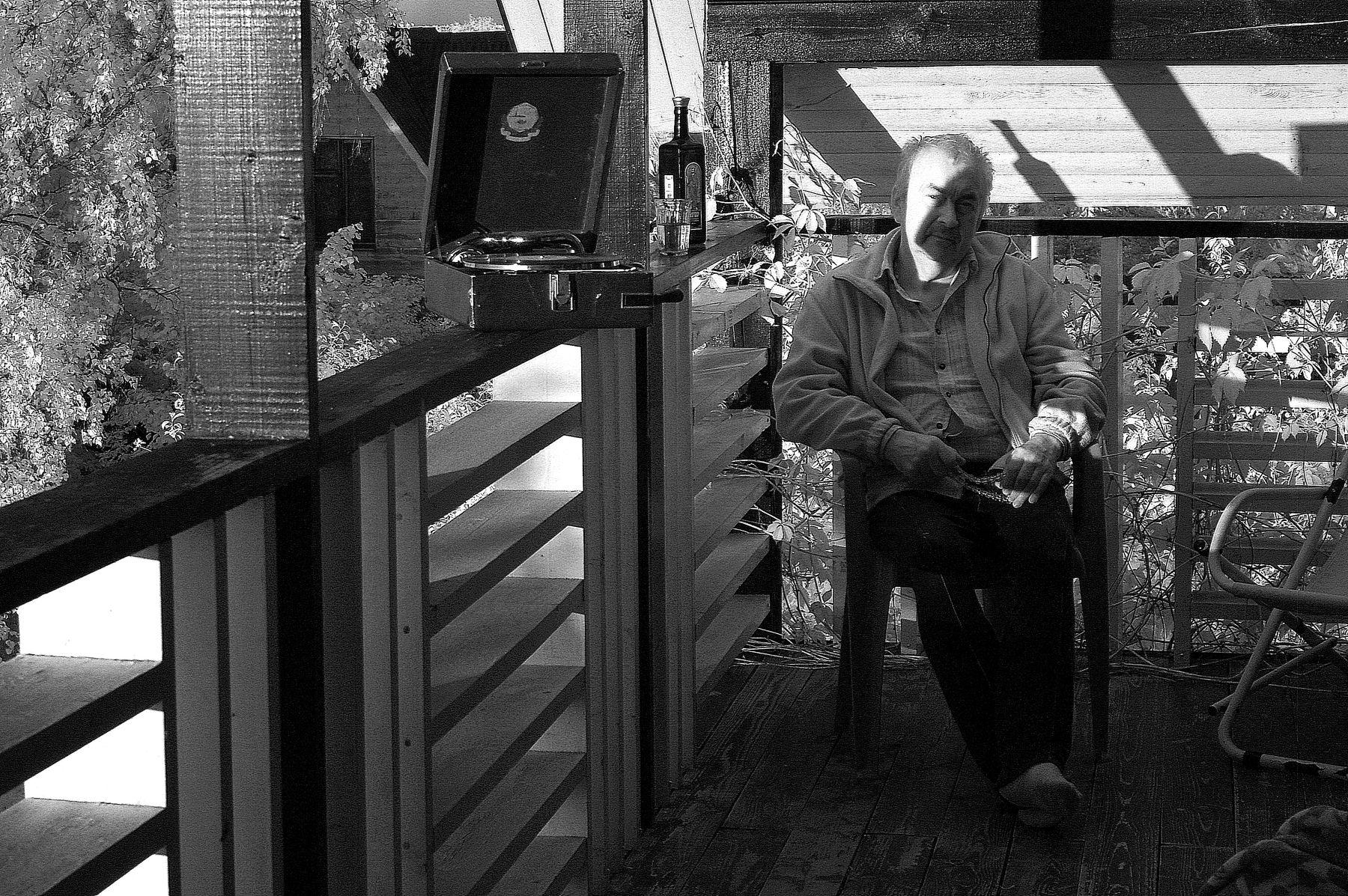 Чёрно-белая полоса..... Ярославль.Ярославская губерния.Р.Ф. 2019 г. от Р.Х. Монохромная инфракрасная фотография. Инфракрасная фотография