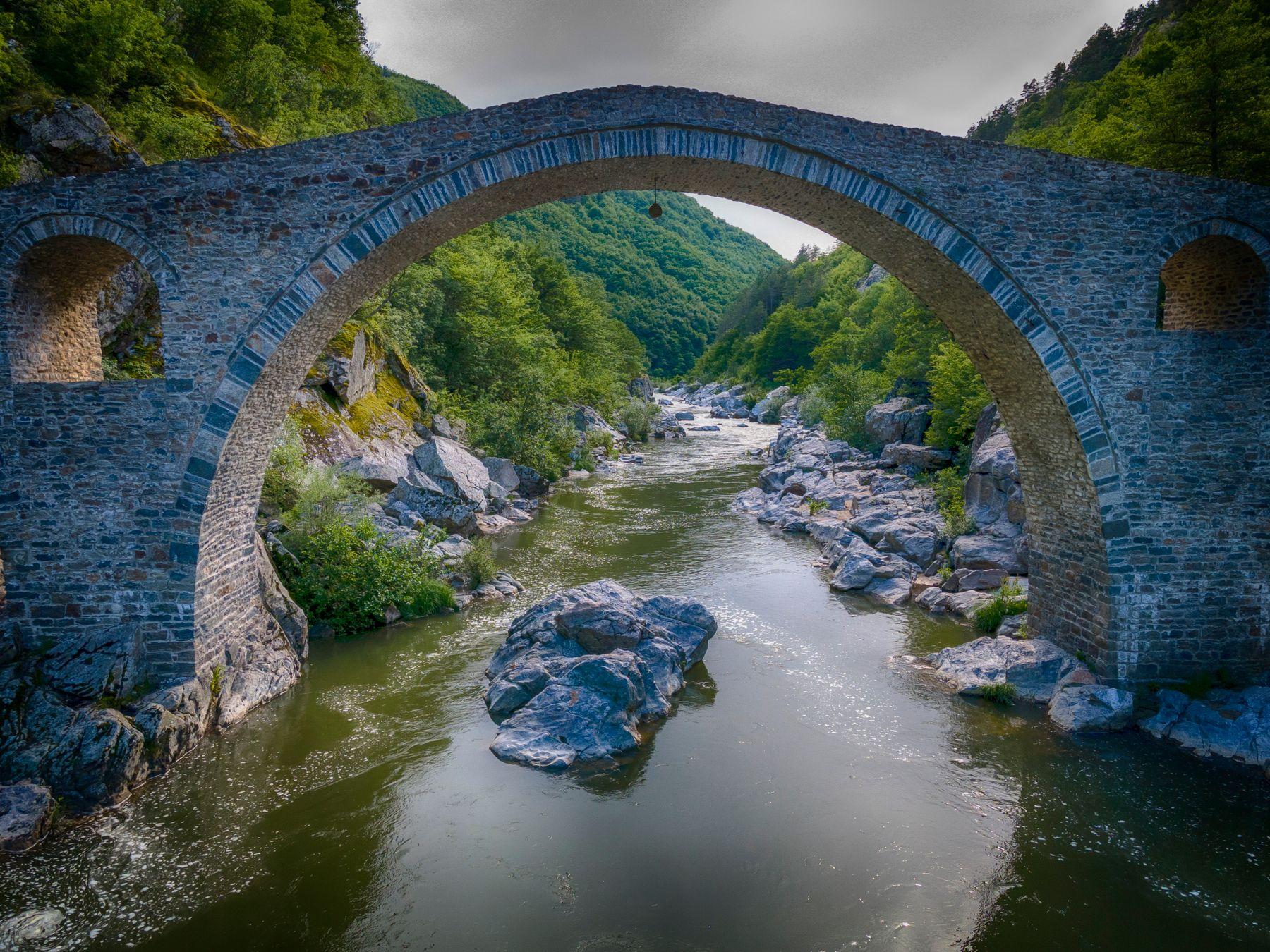 Дьявольский мост Родопы Арда