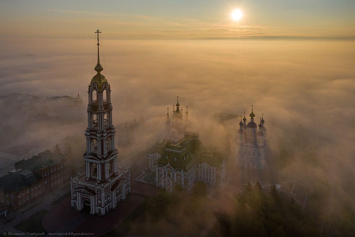 В призрачном мире майского тумана Тамбов