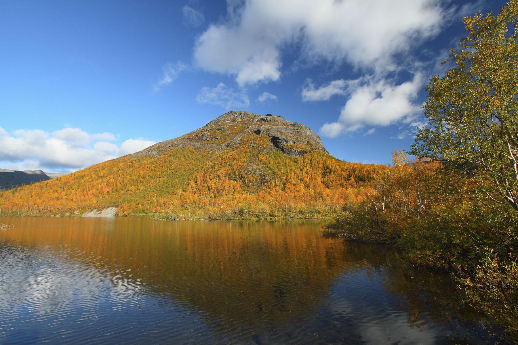 озеро Малый Вудъявр