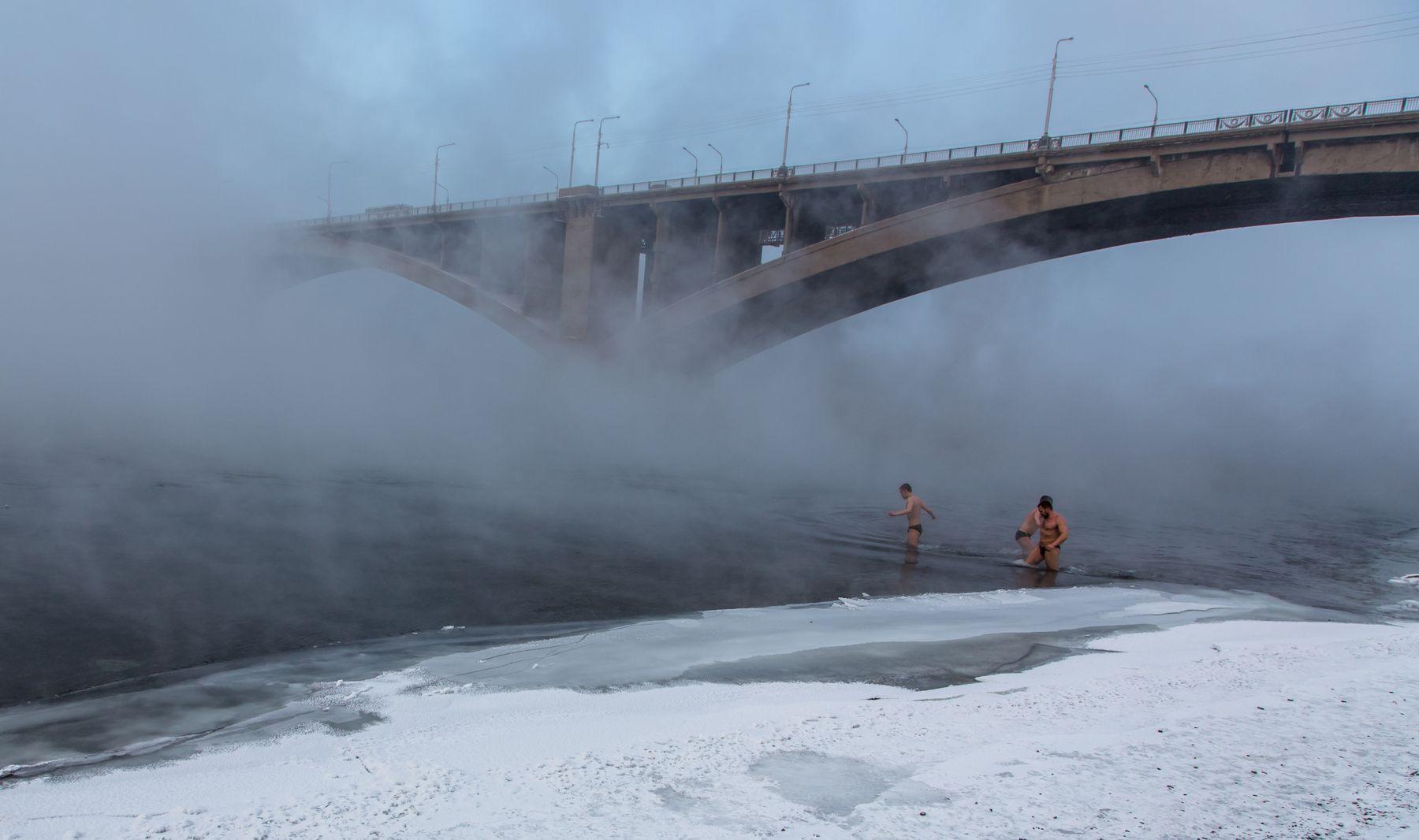 Крещение Крещение Енисей 19 января 2018 г Красноярск