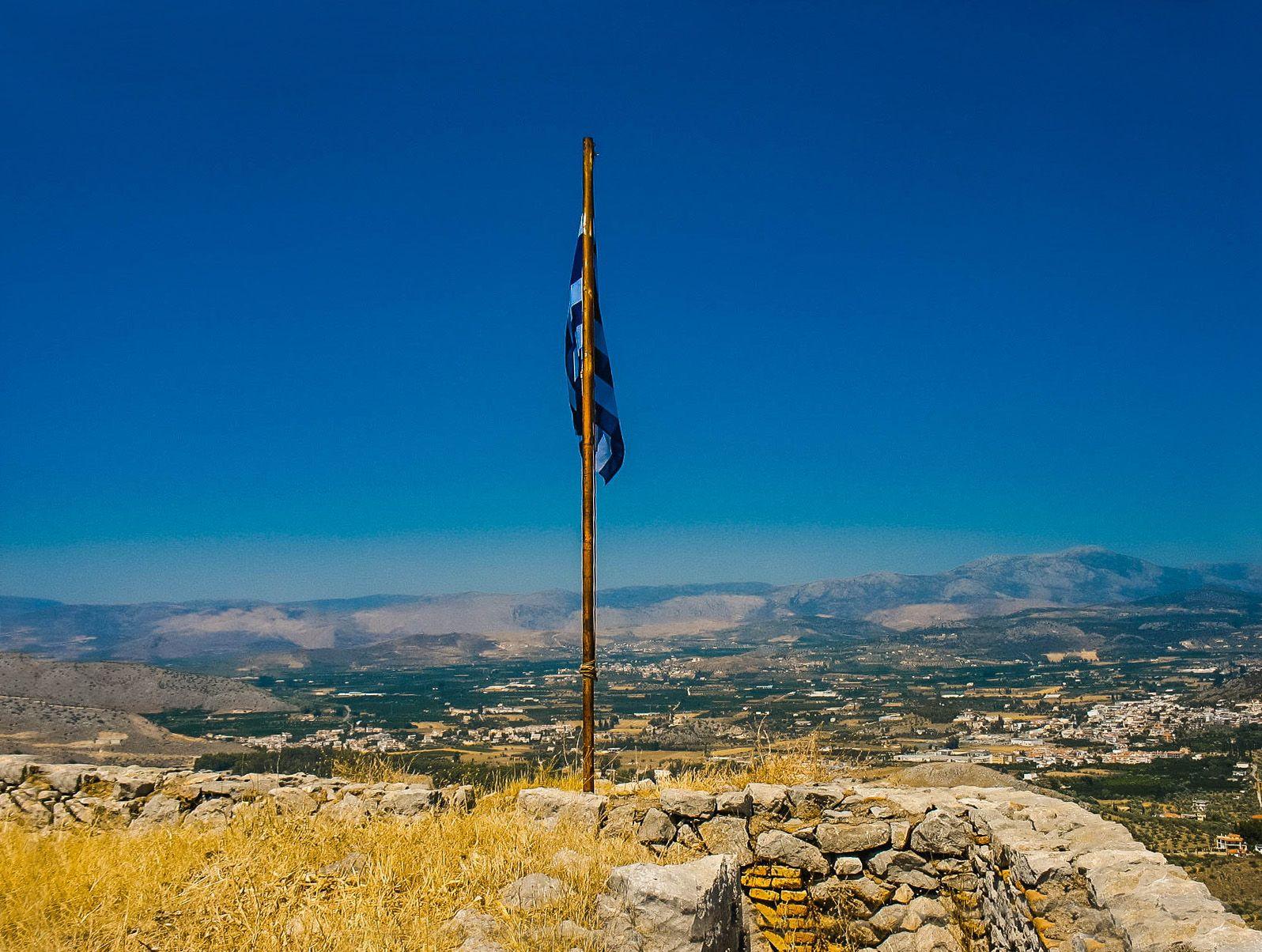 Флаг Греции, Греция (17.07.2008)