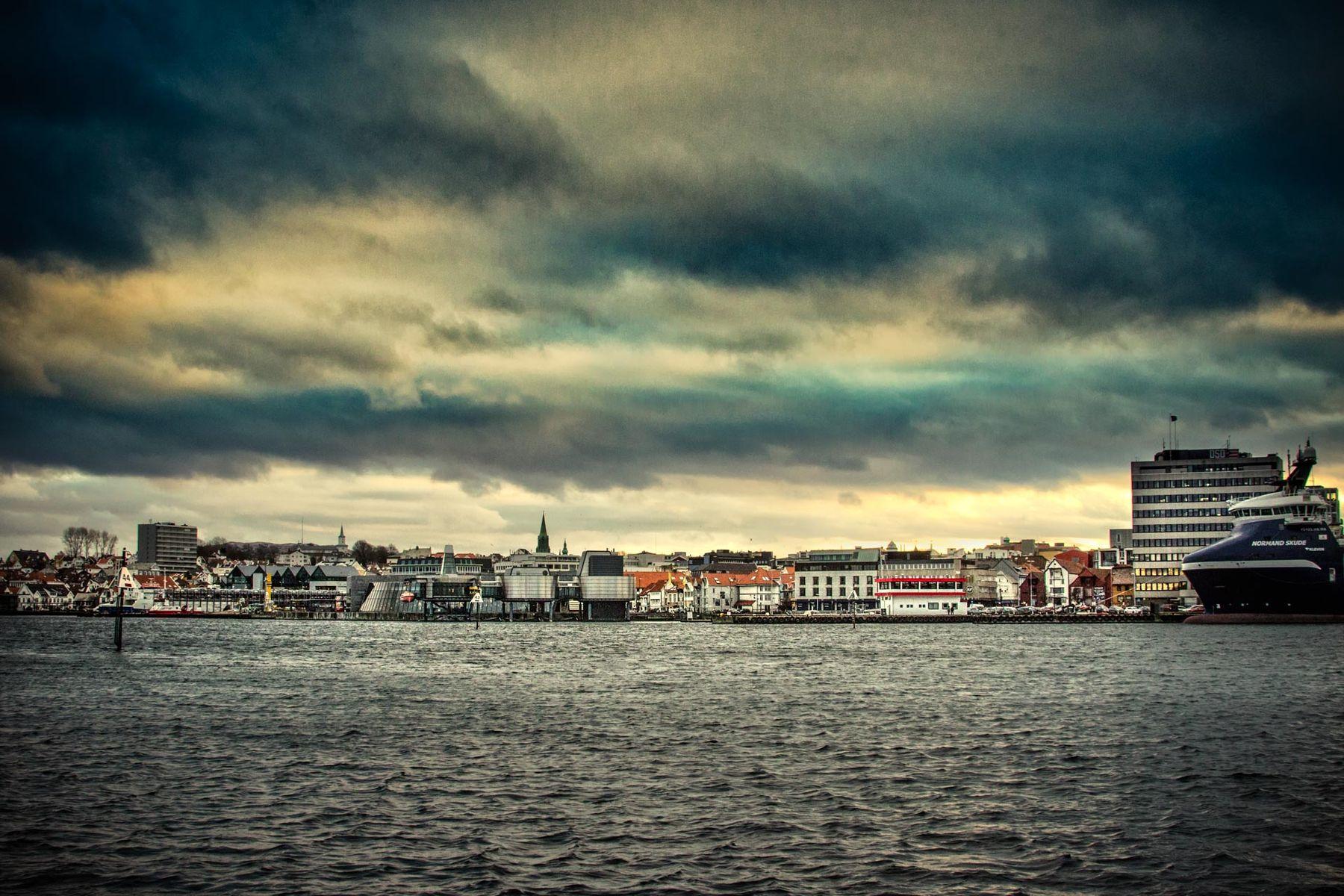 Winter in Stavanger Norway