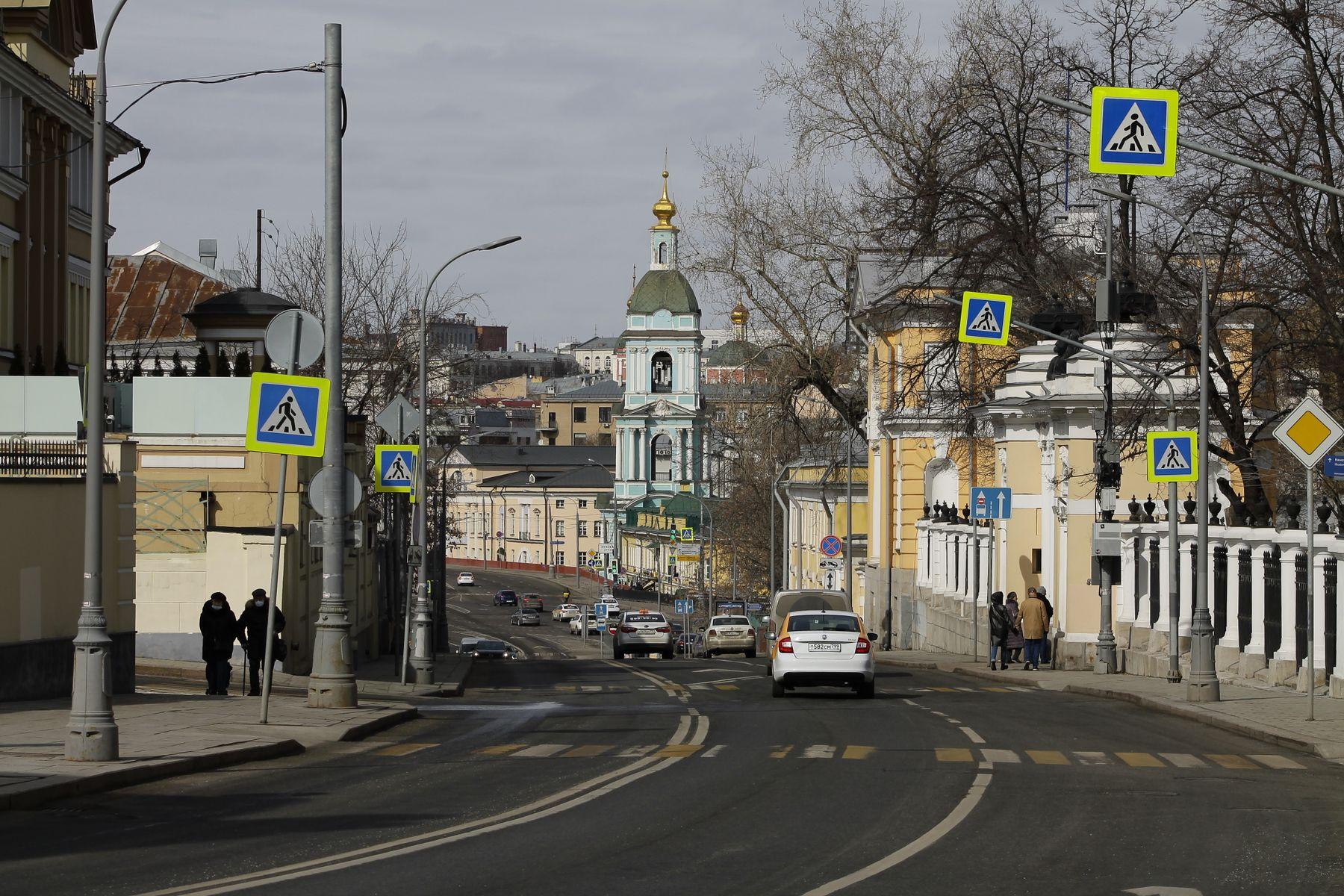 улица Яузская Москва