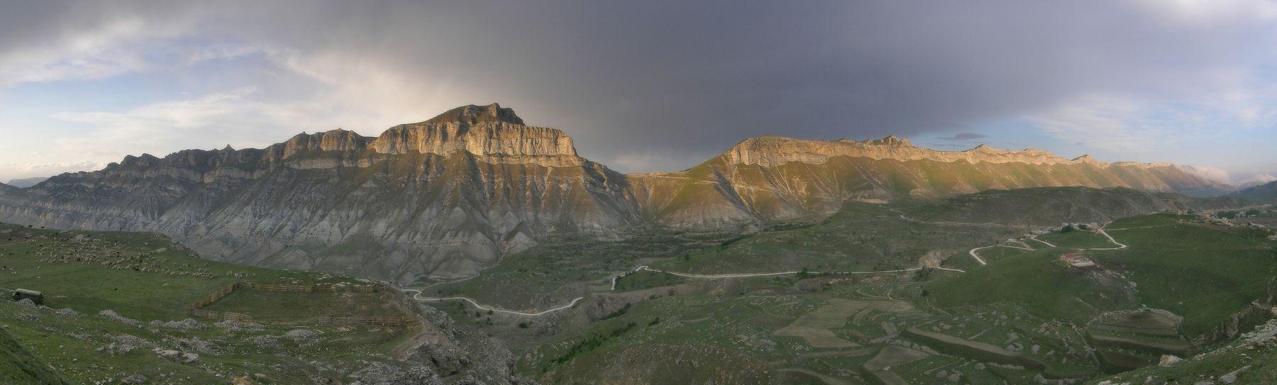 Пастухи и горы