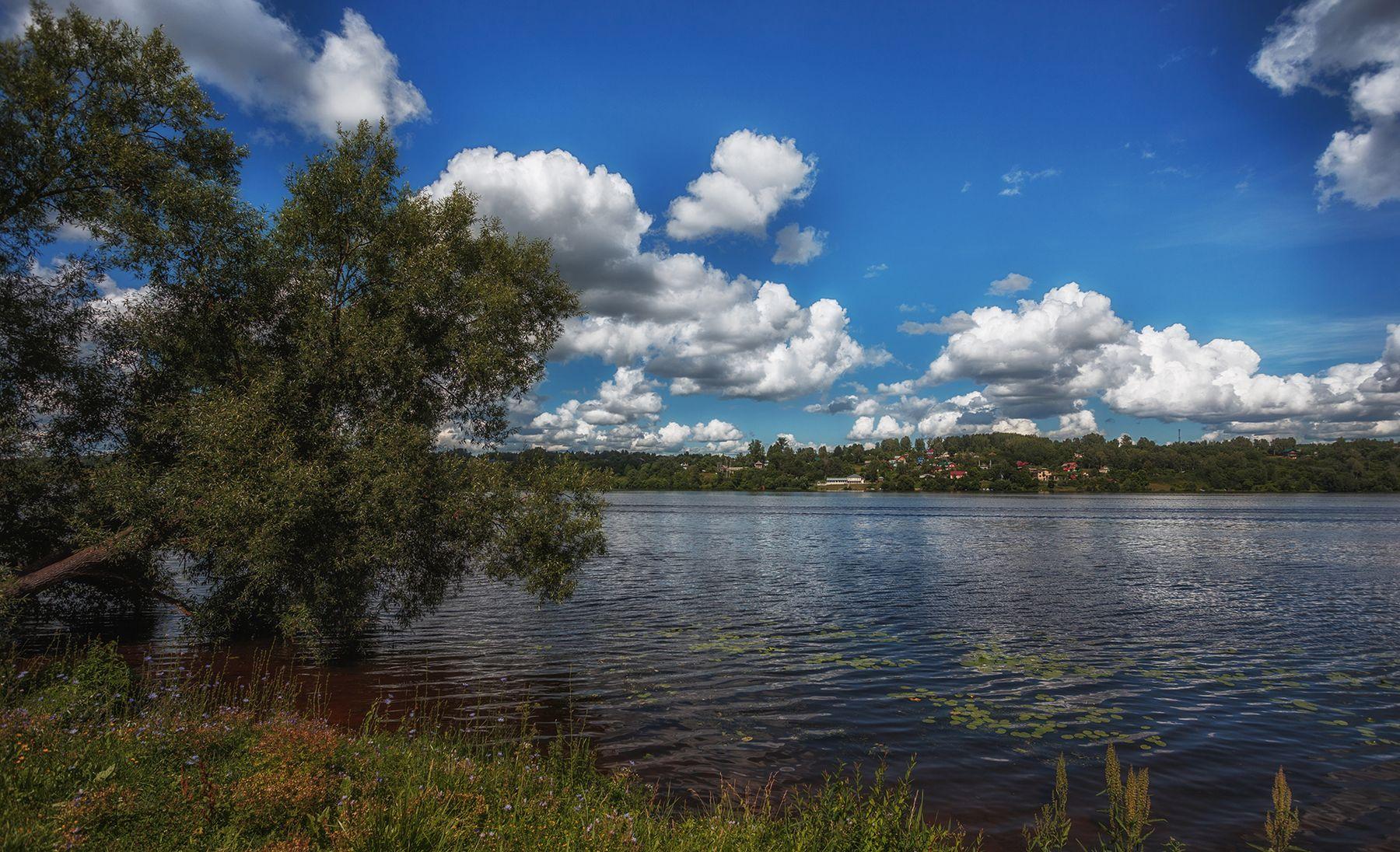 Течет река Волга... Ивановская область Волга Плес