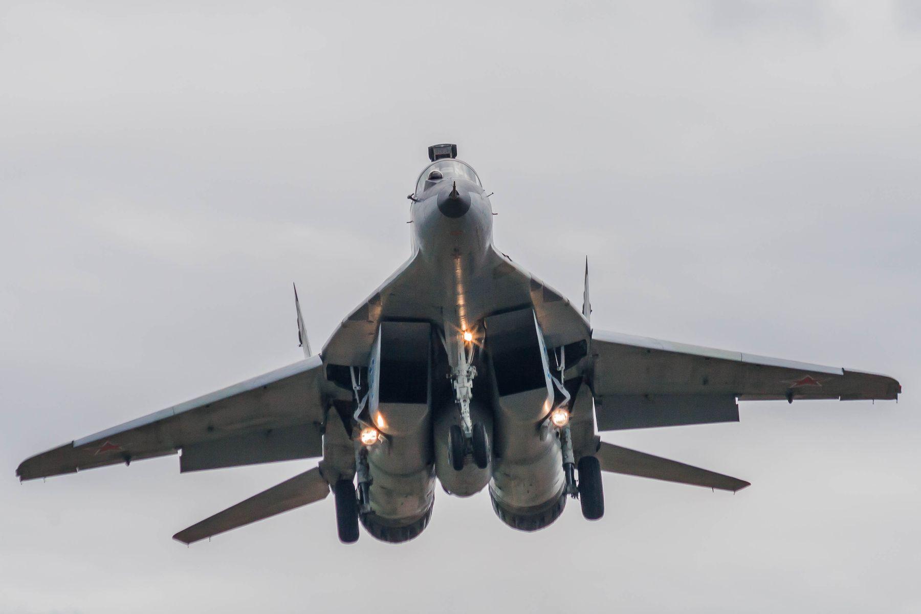 *** авиабаза Кубинка МиГ-29СМТ
