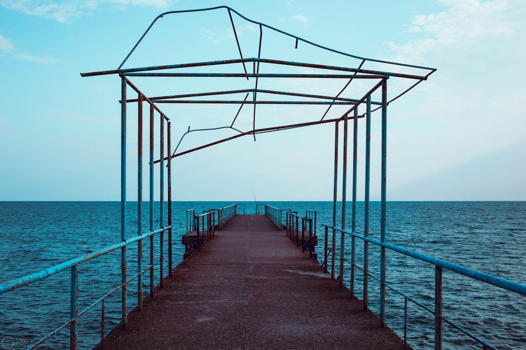 blue морской пейзаж