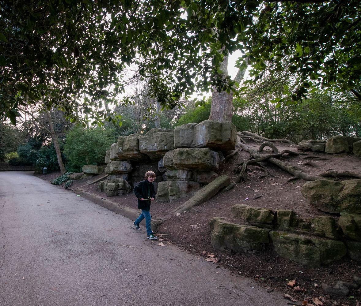 В старом парке... Лондон парк Баттерси