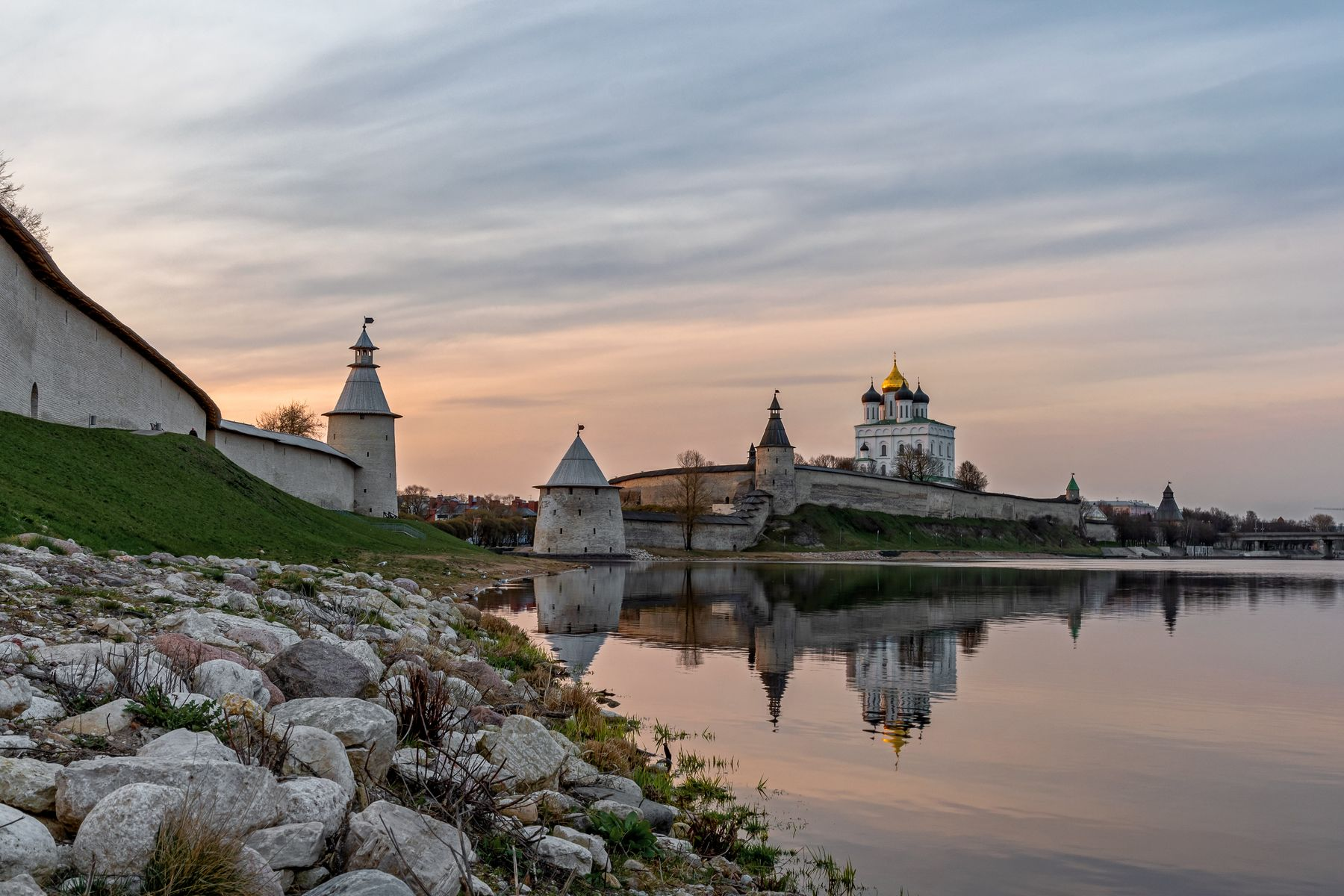 Псковский Кром (Кремль)