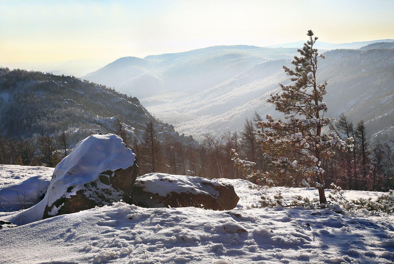 ***** Крыкты-тау Южный Урал зимний пейзаж
