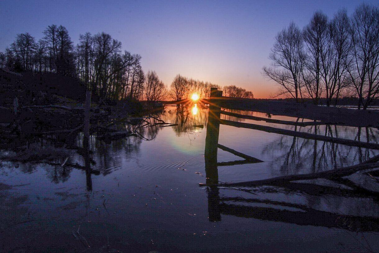 Разлив реки Шерна