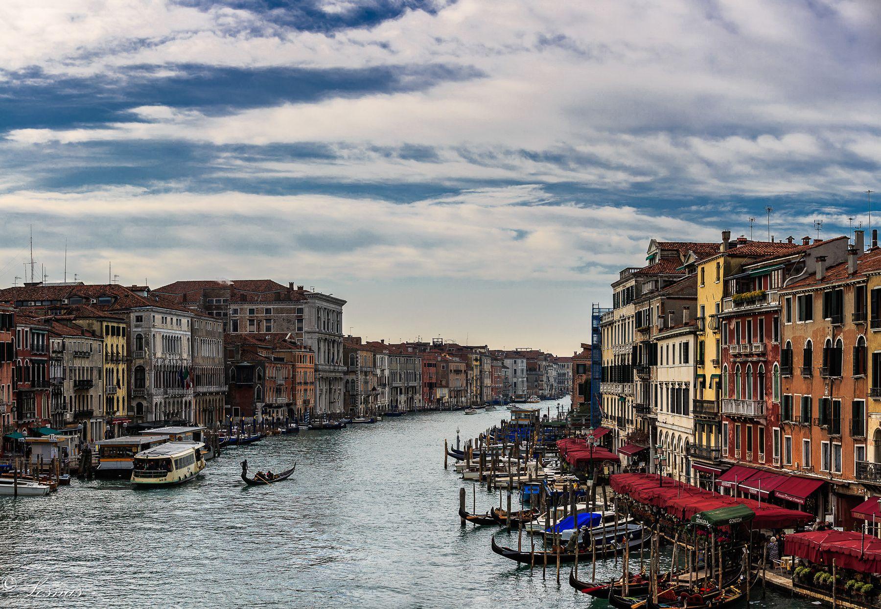 Гранд-Канал в Венеции. 2018 г.