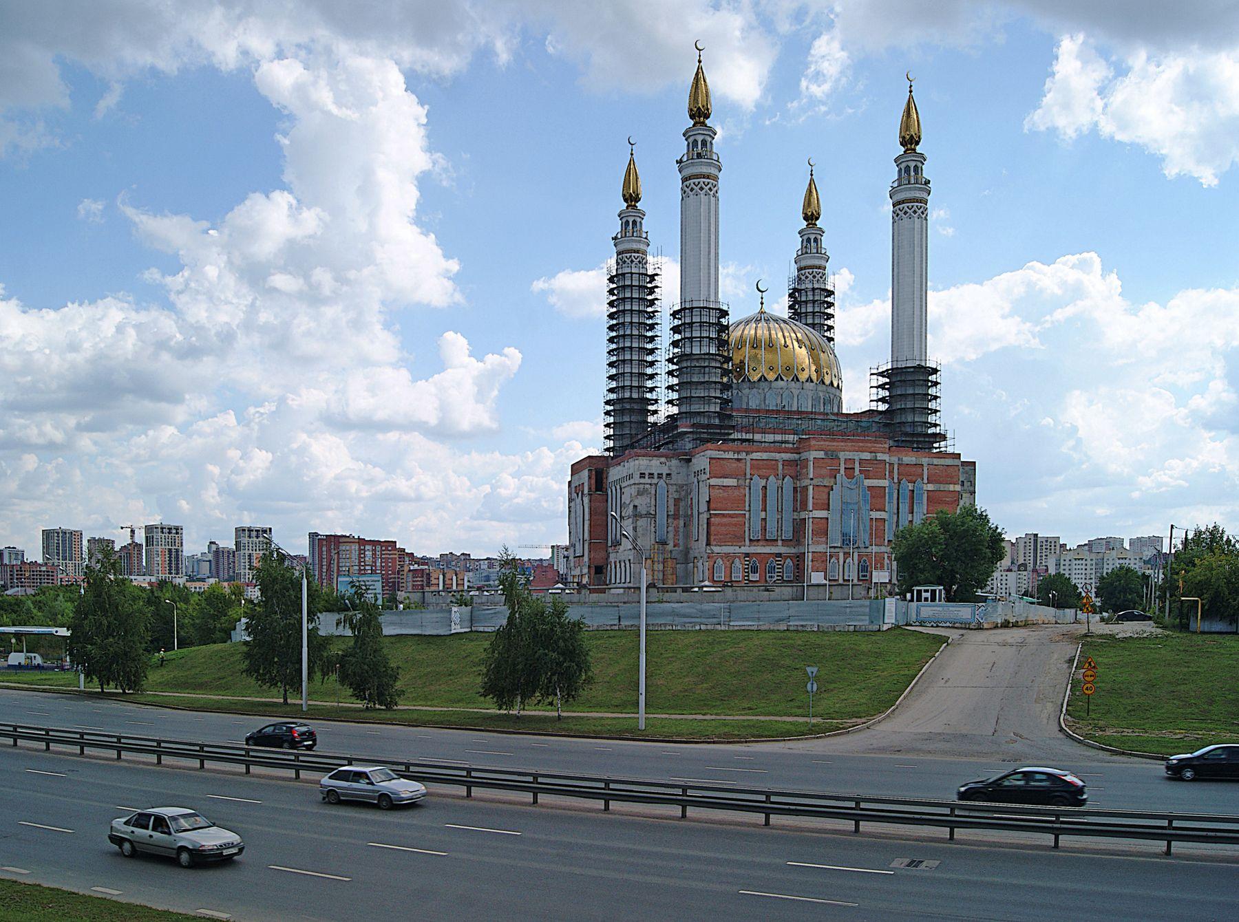 Городские зарисовки город лето мечеть